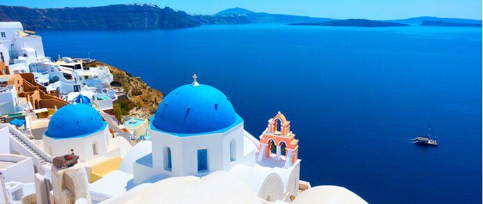 3 giorni di guida intorno all'isola di Santorini