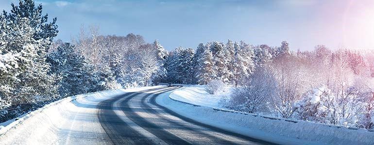 Conducción con lluvia, viento y nieve