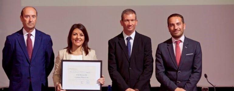 La Universidad de Alicante reconoce a Erik Devesa con el 'Premios Empresa Universidad 2019'